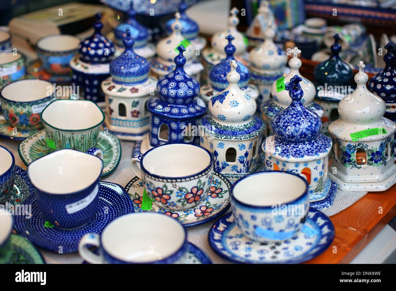 Steingut Keramik bunte keramik keramik steingut aus boleslawiec polen bunzlauer