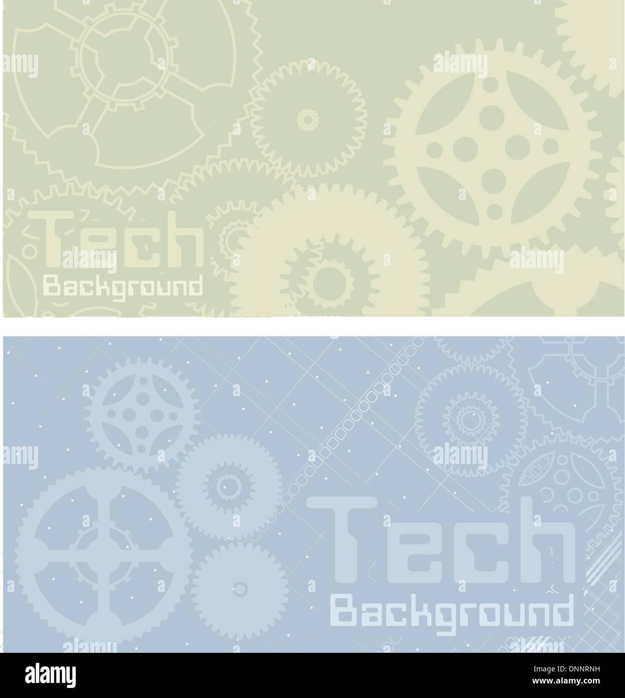 Vektor-Hintergründe, Technik, Maschine, Industrie Stockbild