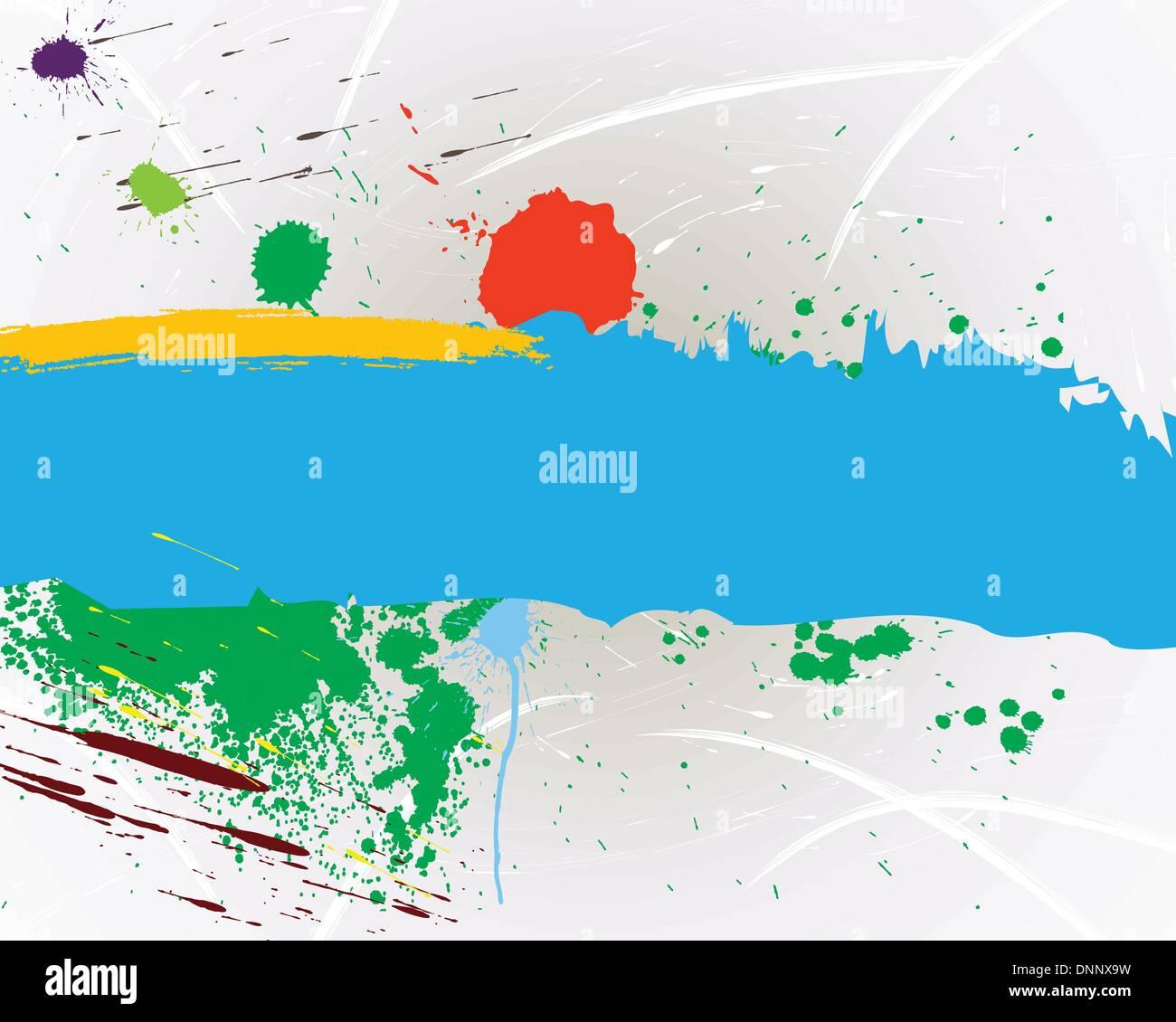 Abstract Grunge Vektor Hintergrund Design einsetzbar. Stockbild