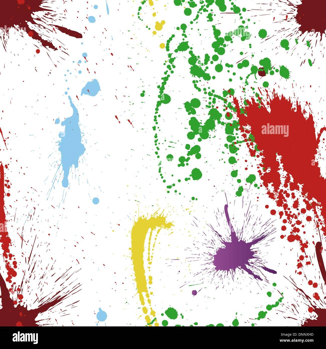 """Abstract Grunge Vektor Musterdesign.  Ziehen Sie für leicht machen nahtloses Muster nur Gruppe """"alle"""" in Farbfelder Bar und nutzen Sie es für jede Kontur füllen. Stockbild"""