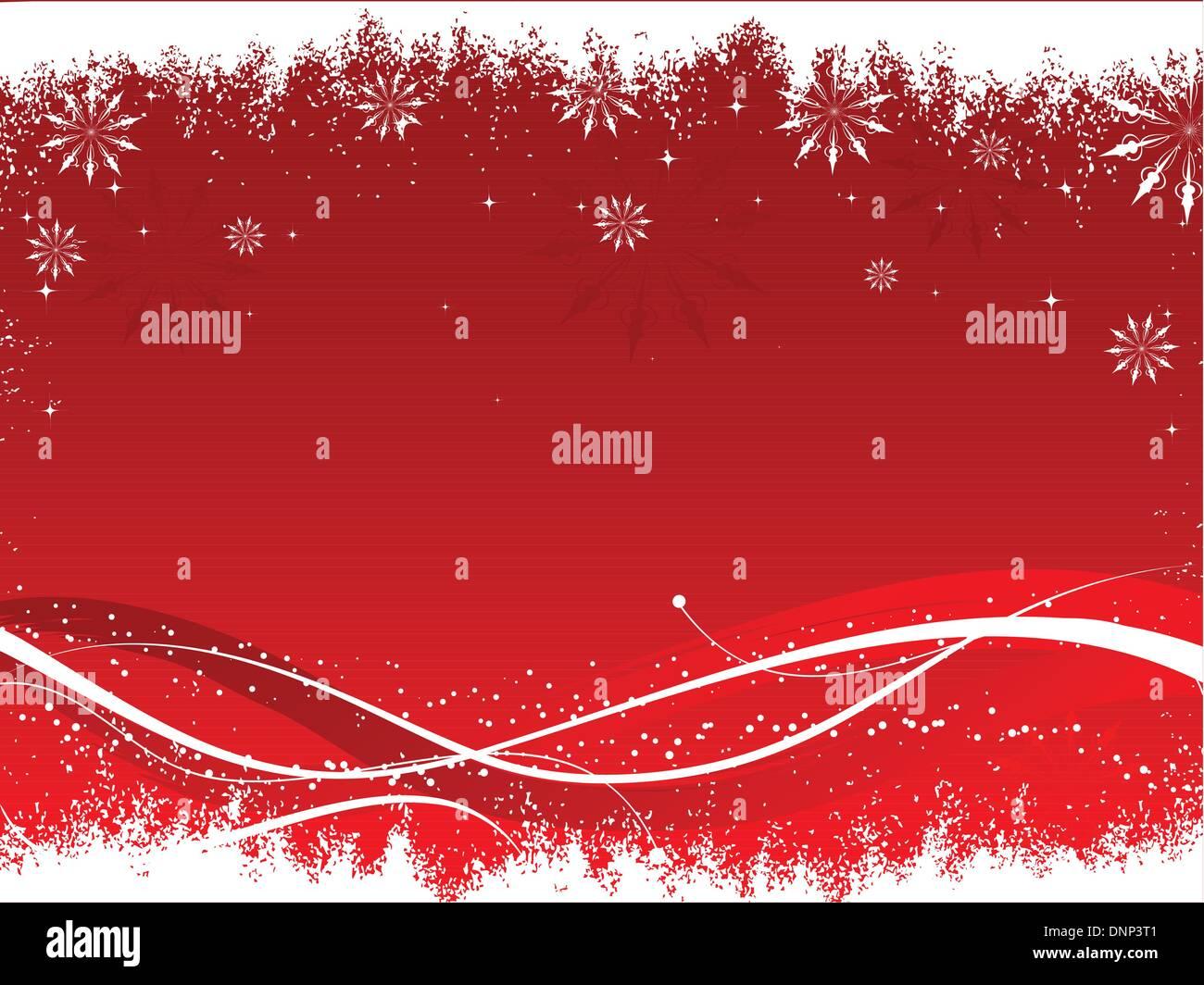 Dekorative Winter Hintergrund Stockbild