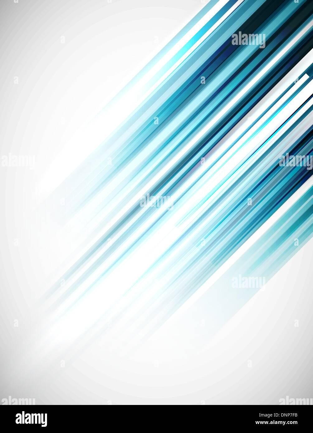 Blaue abstrakte geraden Vektor-Hintergrund Stock Vektor