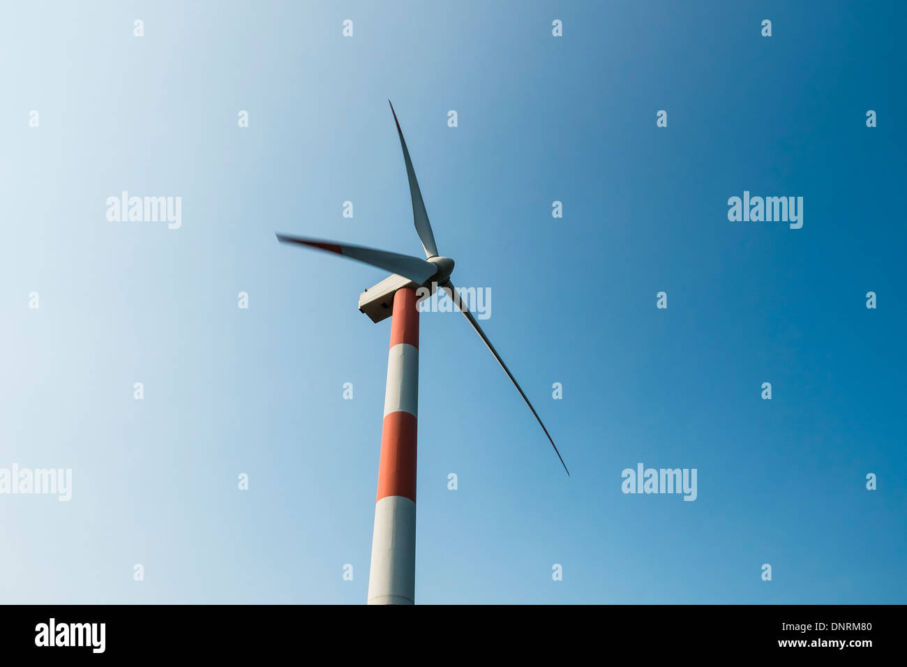 Shihmen Wind Power Station, New Taipei, Taiwan Stockbild