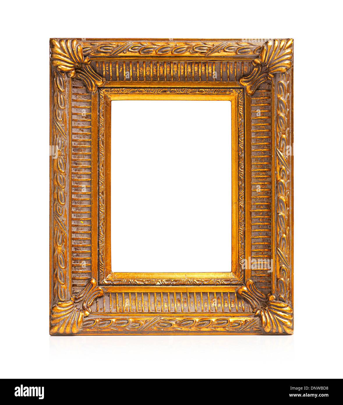 Gold Picture Frame Cut Out Ornate Stockfotos & Gold Picture Frame ...