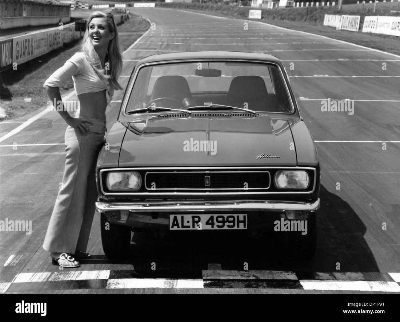 1969 Hillman Hunter GT Stockbild
