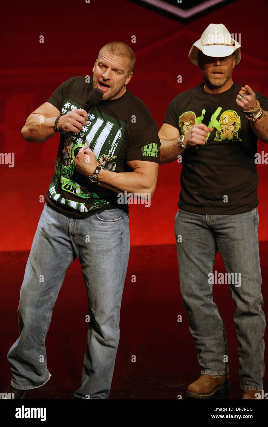 Las Vegas, Nevada, USA. 9. Januar 2014. WWE Superstars Stephanie ...