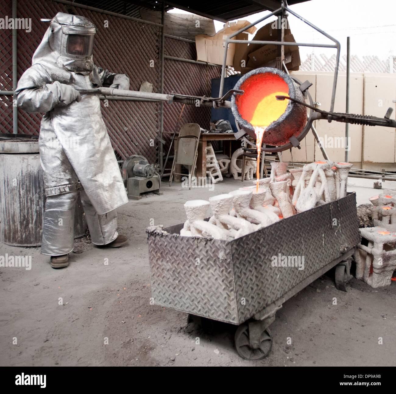 Foundry Workers Stockfotos & Foundry Workers Bilder - Alamy