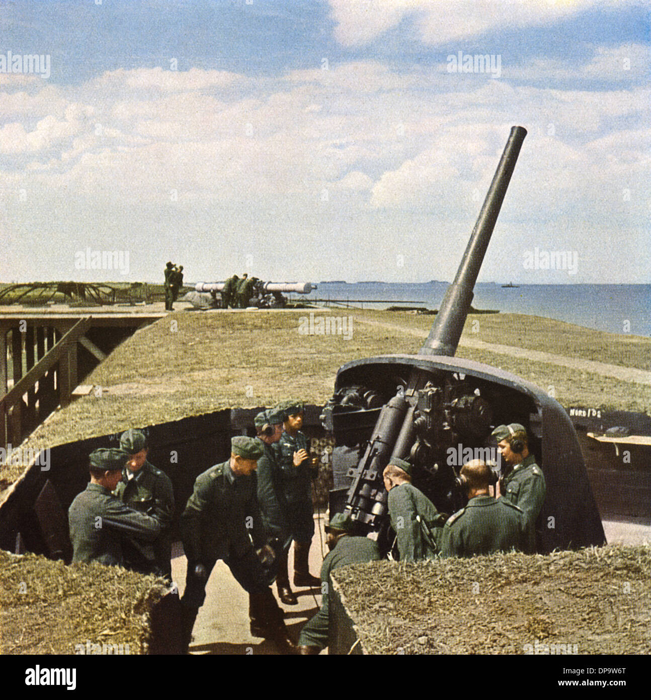 WAFFE/ANTI-AIRCRAFT WW2 Stockbild