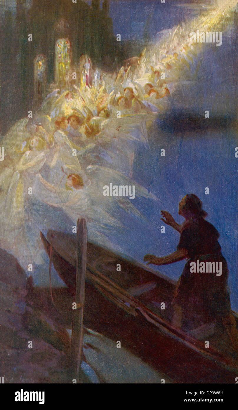 WESTMINSTER ABBEY-LEGENDE Stockbild