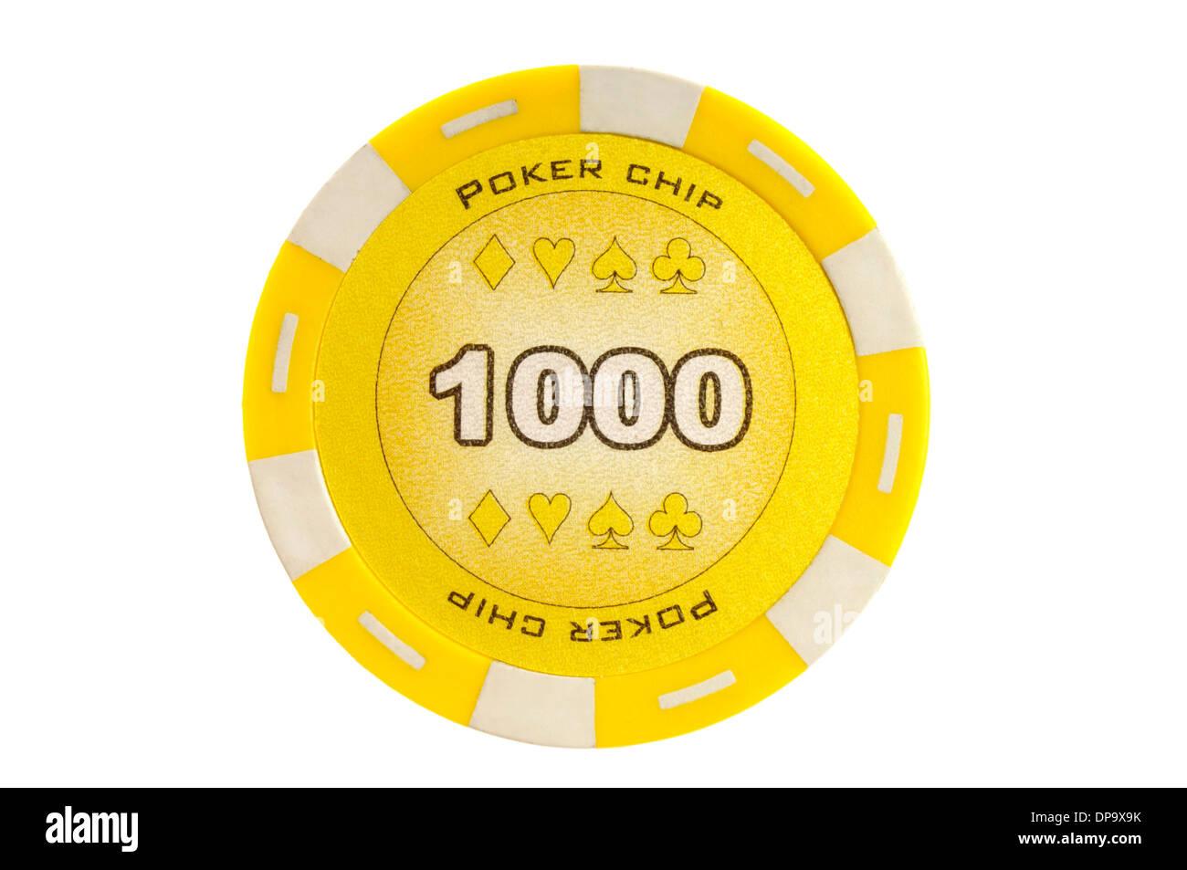 Pokerchip Stockfoto, Bild: 65371759 - Alamy