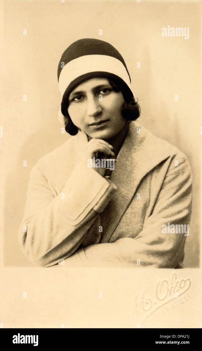 Türkische Schönheit der 1930er Jahre Stockbild