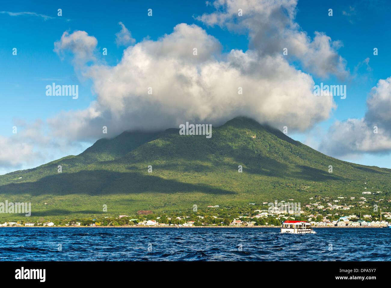Nevis Stockbild