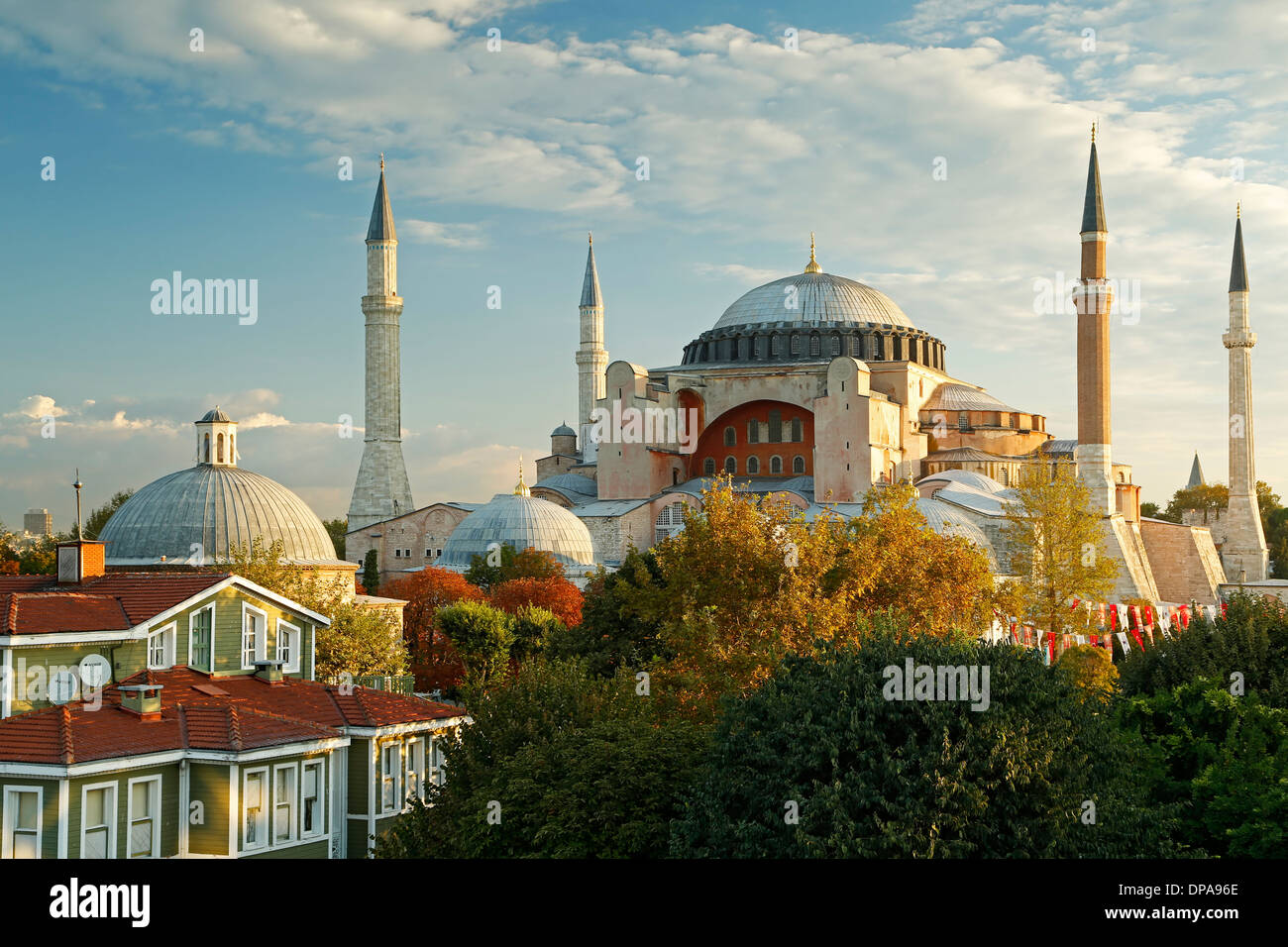 Hagia Sophia, Istanbul, Türkei Stockbild