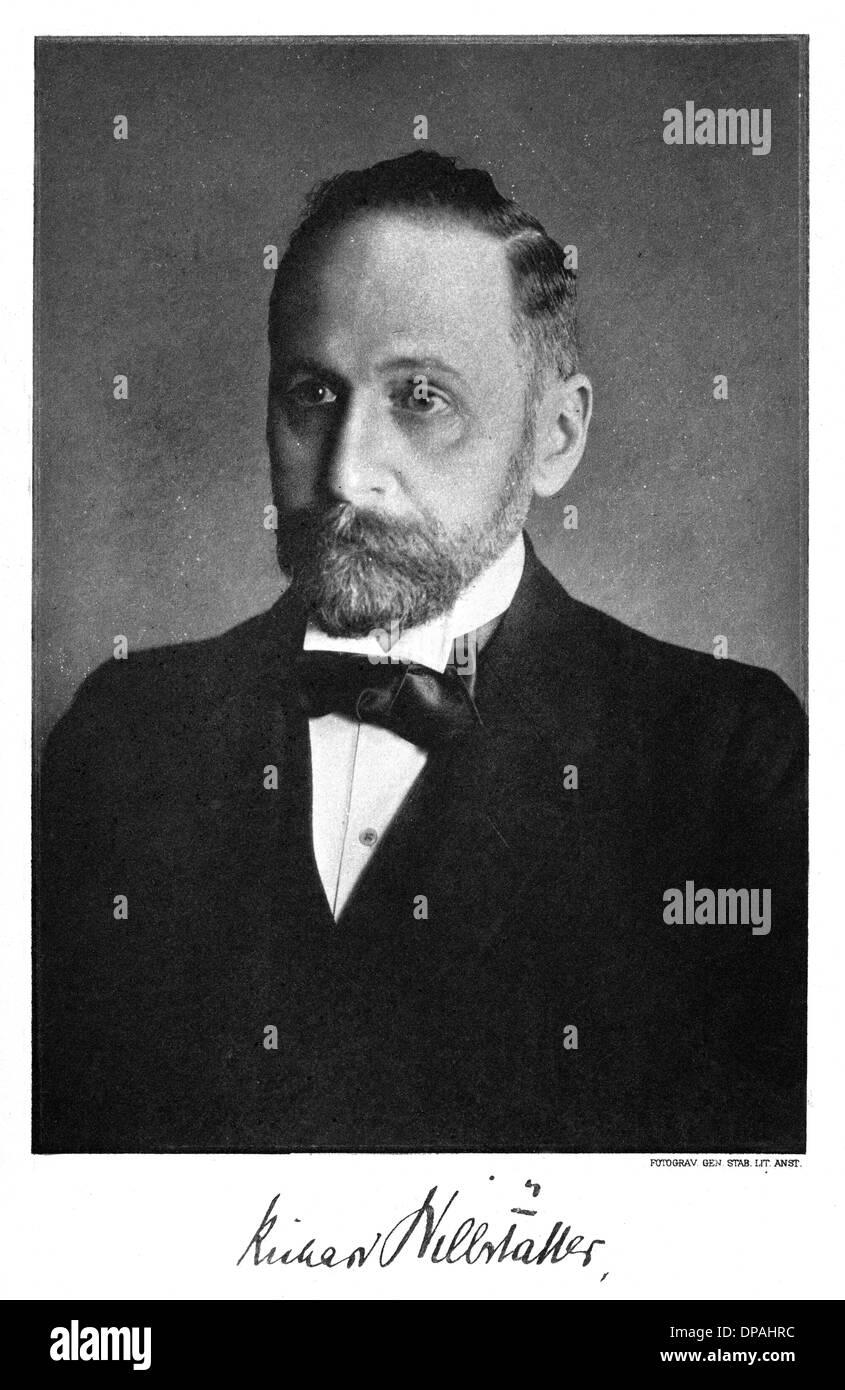 WILLSTÄTTER R/1915 NOBEL Stockbild