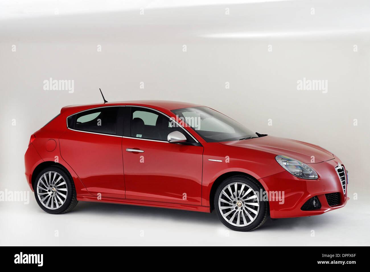 2013-Alfa Romeo Giulietta Stockbild