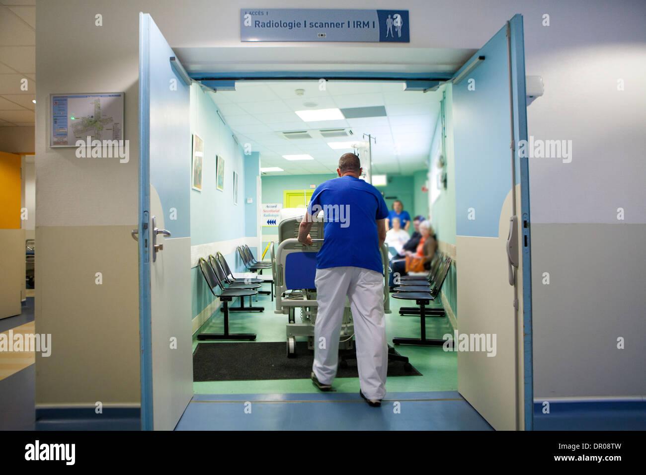 Wartezimmer Krankenhaus
