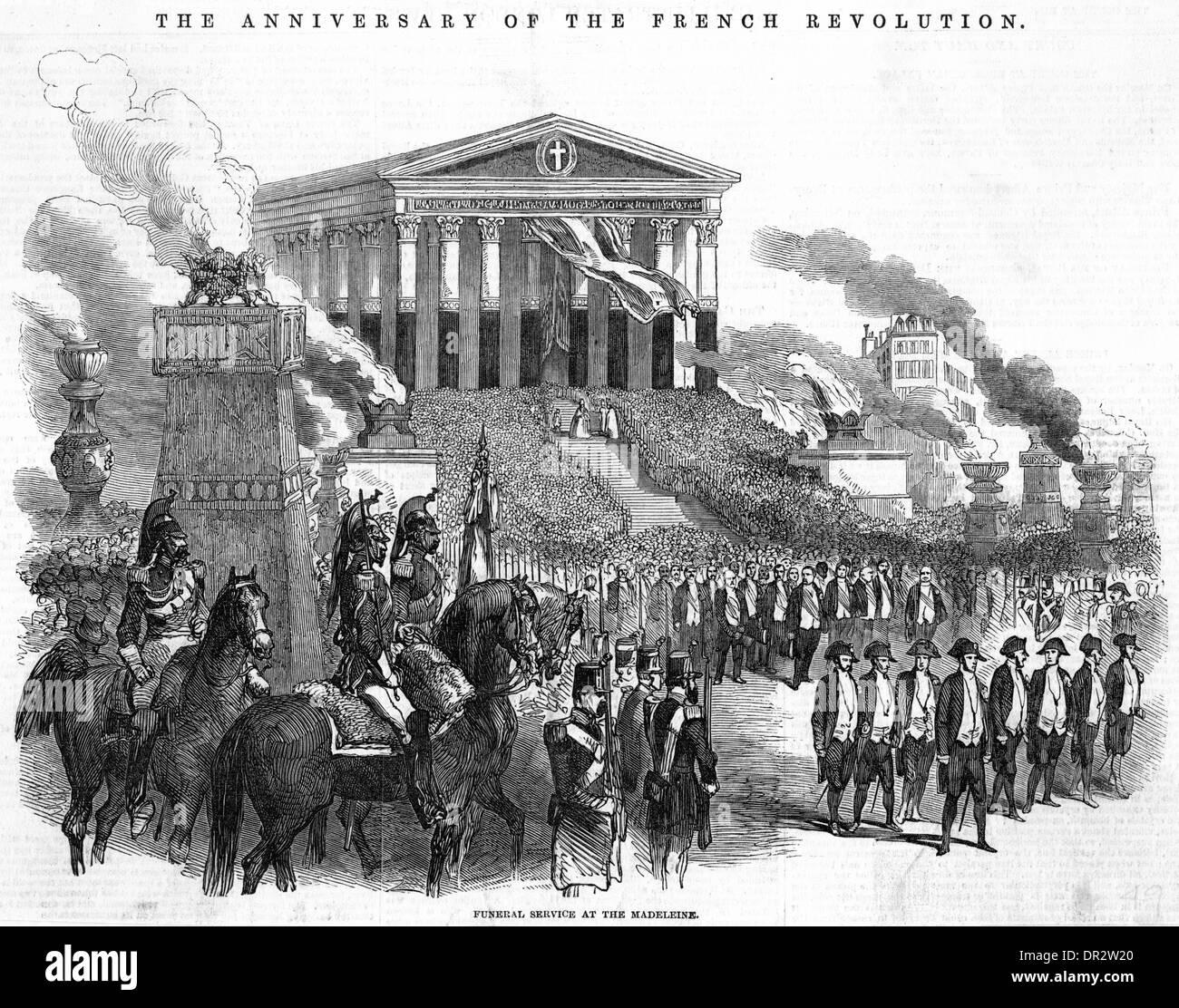 FEIERN REVOLUTION Stockbild