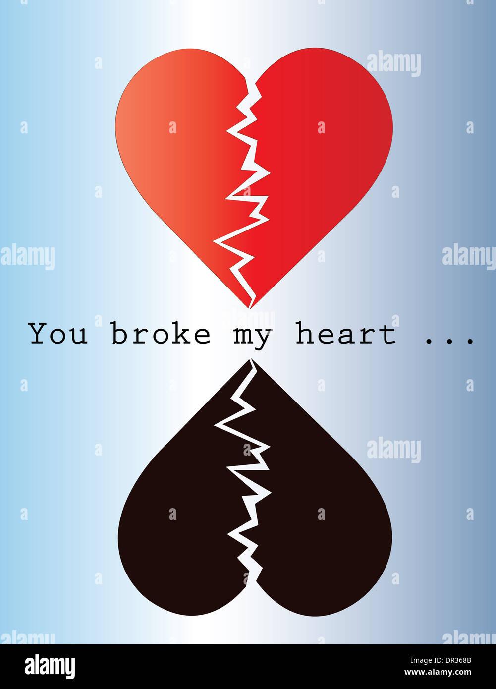 Mein du gebrochen hast warum herz Warum hast