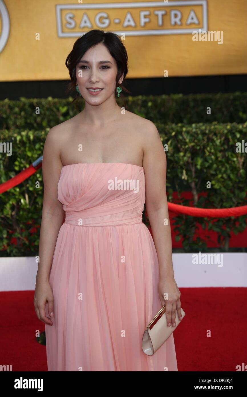 Los Angeles, USA. 18. Januar 2014. Schauspielerin Sibel Kekilli ...