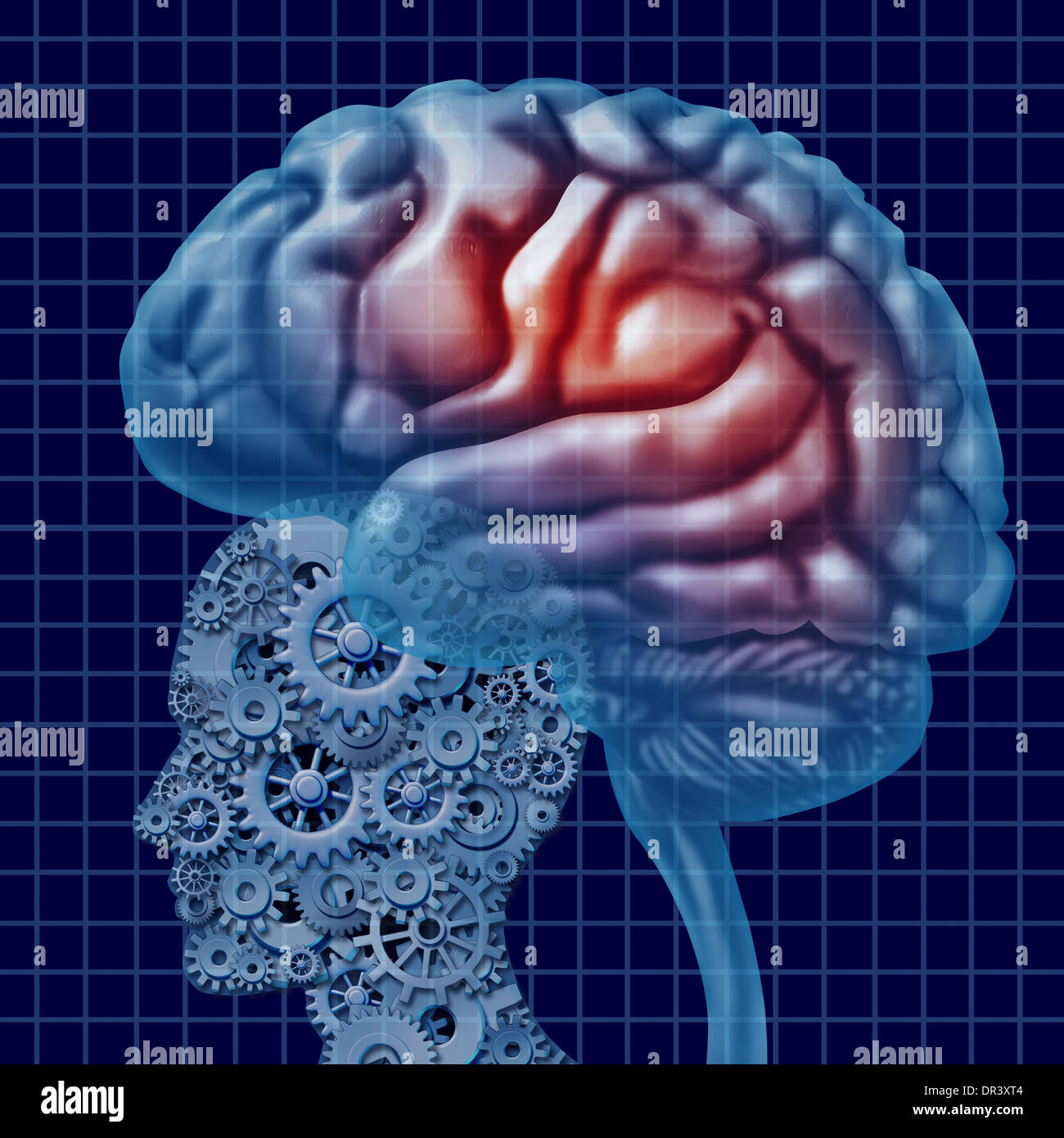 Gehirn-Intelligenz-Technologie als eine psychische Gesundheit ...