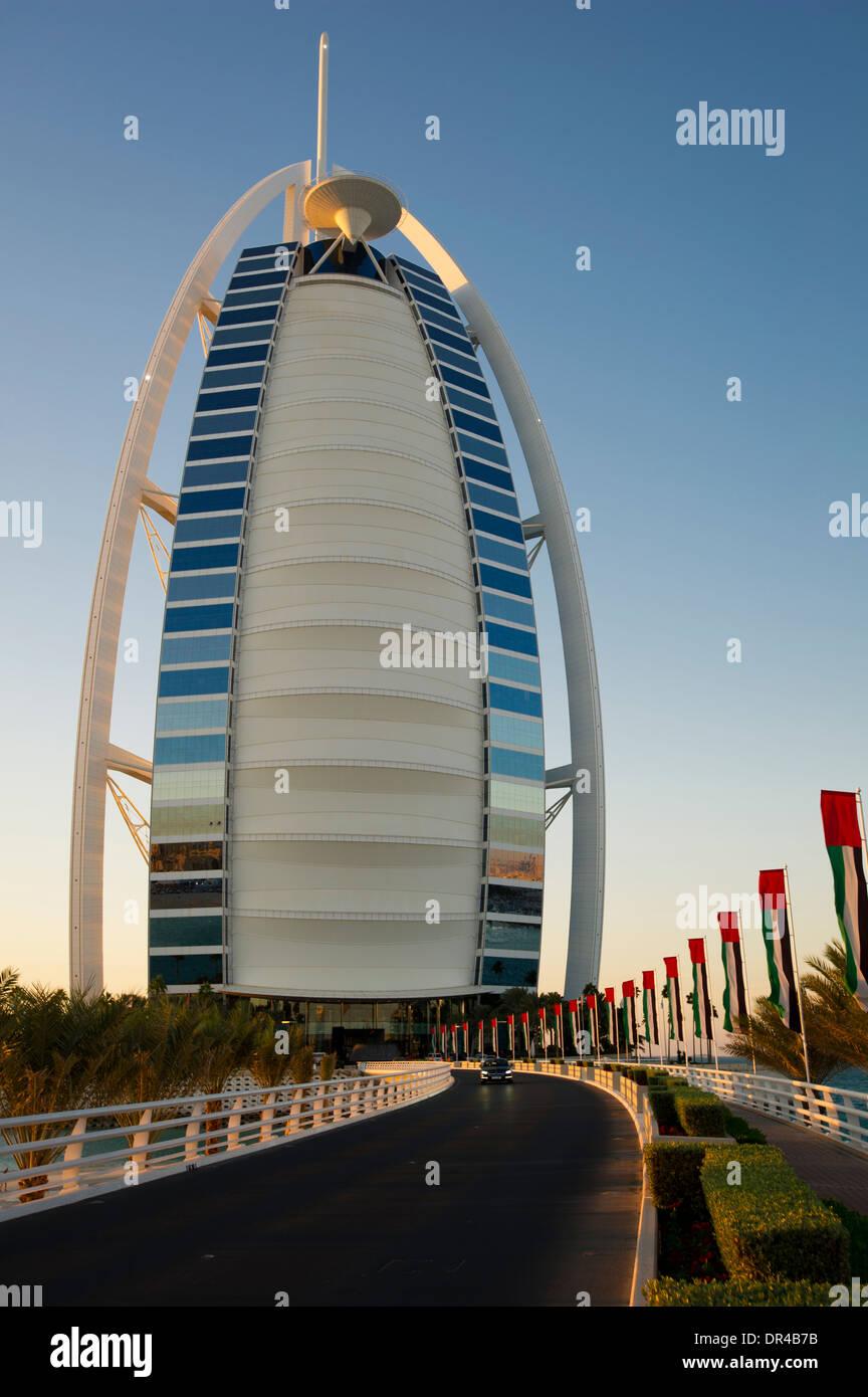 Hochhaus in Dubai Stockbild
