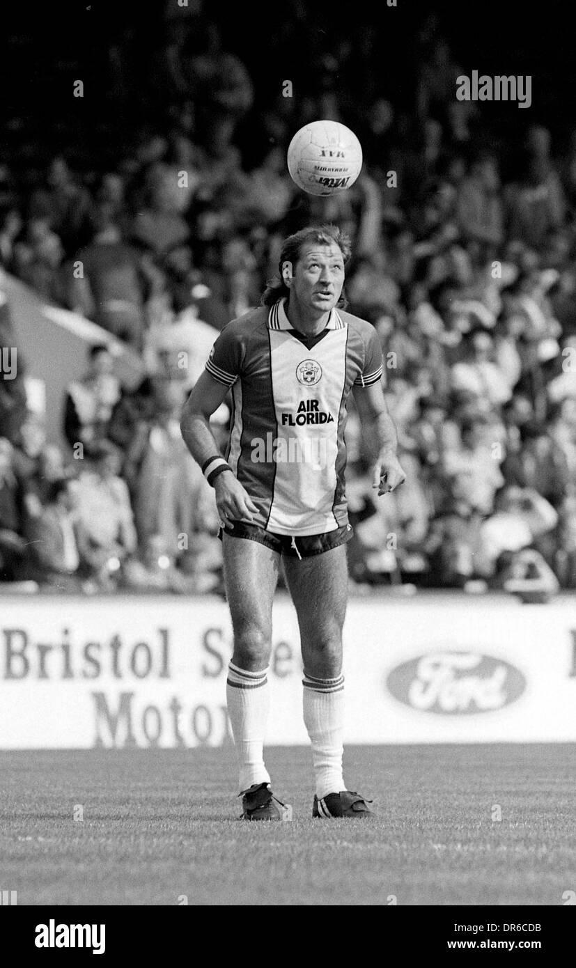 Frank Worthington Southampton Fußballer 24.09.1983 Stockbild