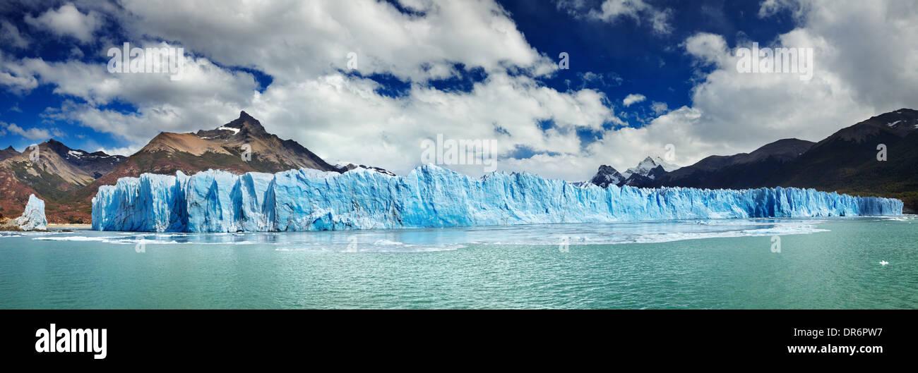 Perito Moreno Gletscher, Argentino-See, Patagonien, Argentinien Stockbild