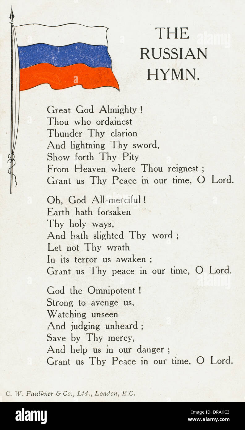 russische hymne