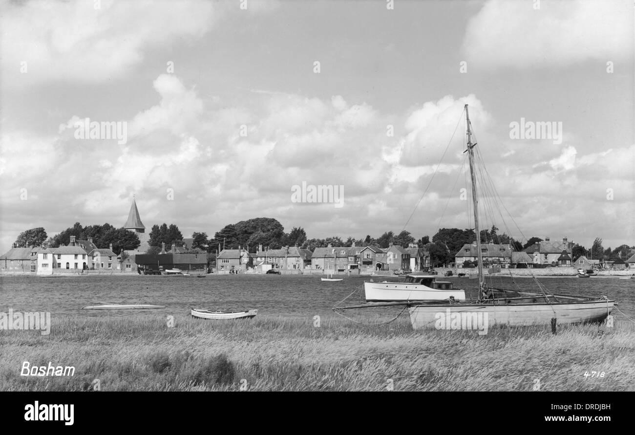 Bosham - West Sussex Stockbild