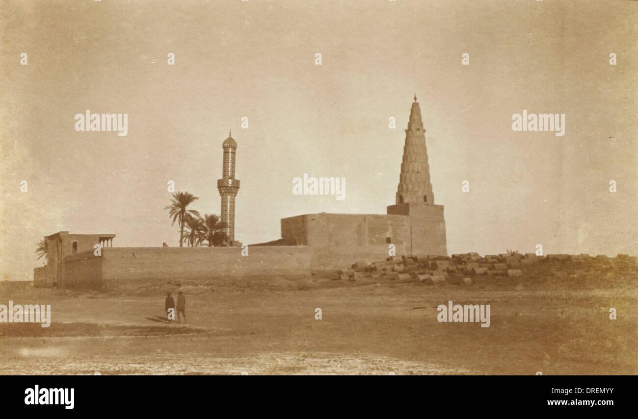 Unbekannte Heilige Grab - Iran Stockbild