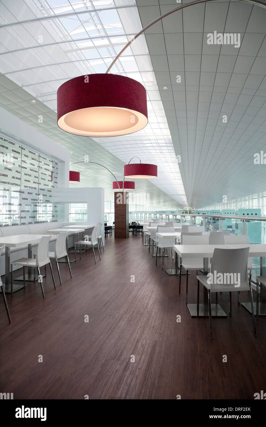Restaurant Lounge Interior Design Architecture Stockfotos ...