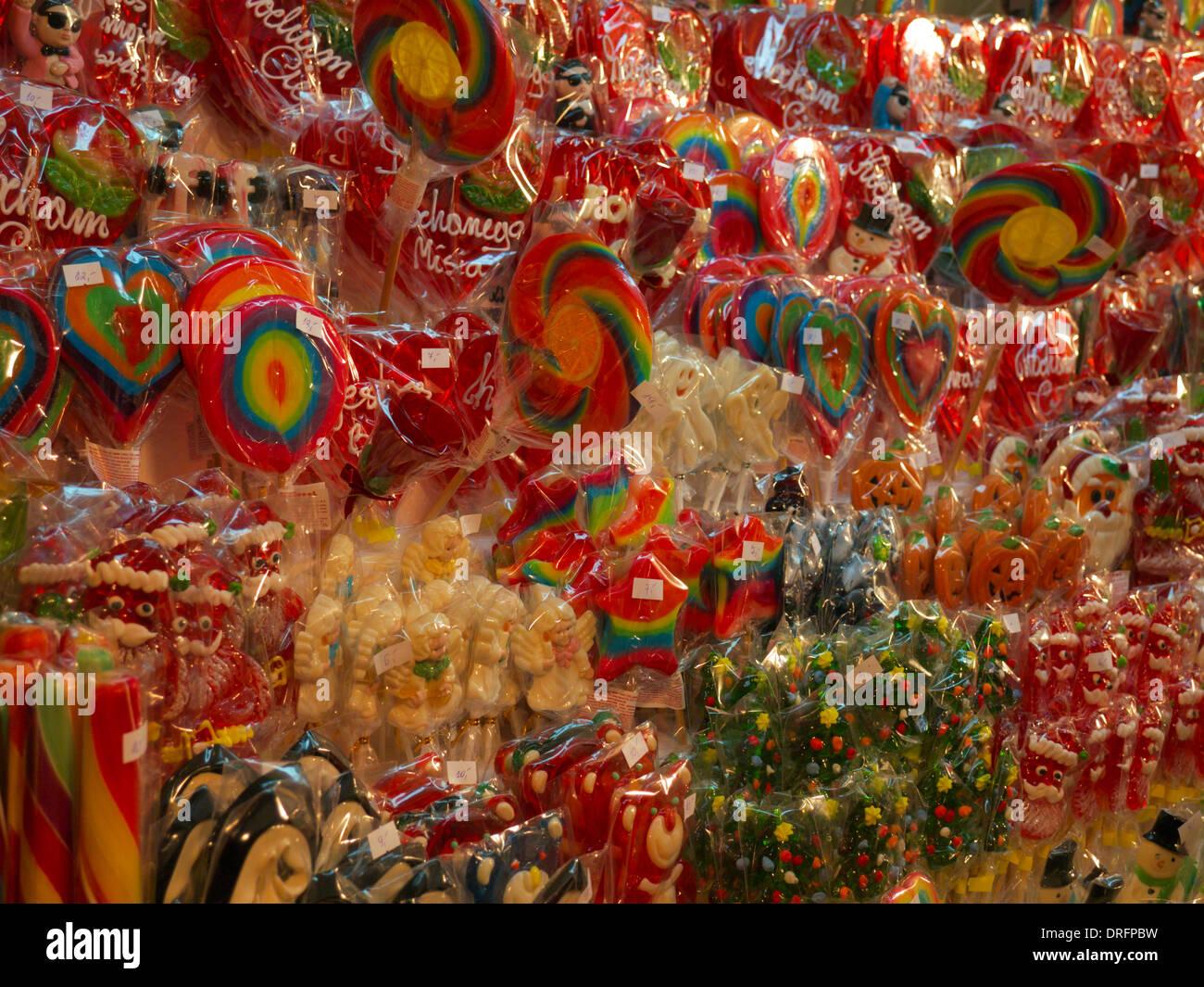Colorful Lollipops Stockfotos & Colorful Lollipops Bilder - Alamy
