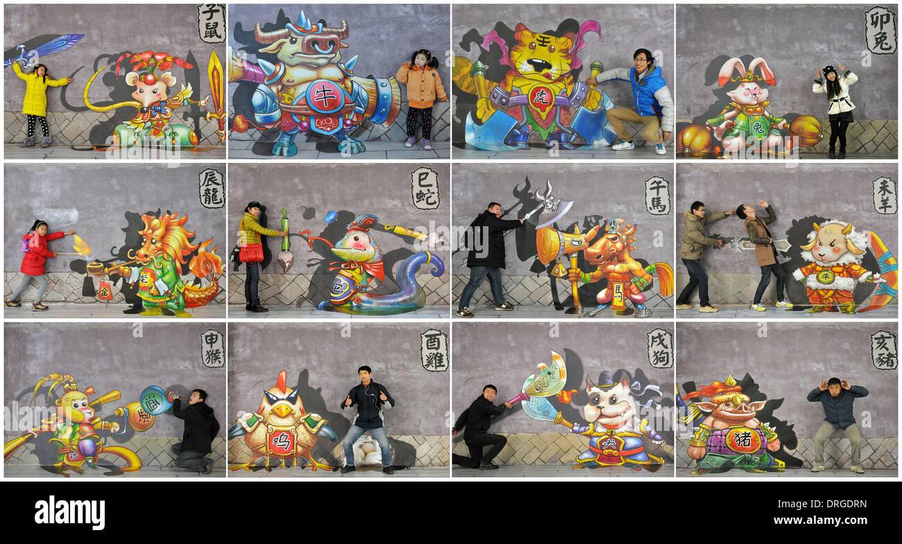 3D-Zeichentrickbild