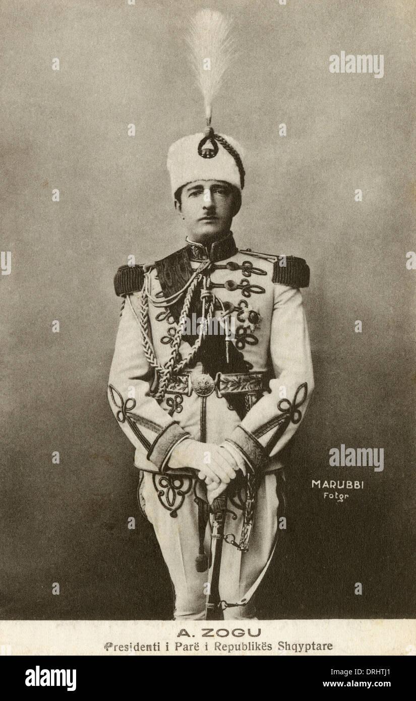 Albanische König Zog Ich Stockfoto Bild 66160697 Alamy