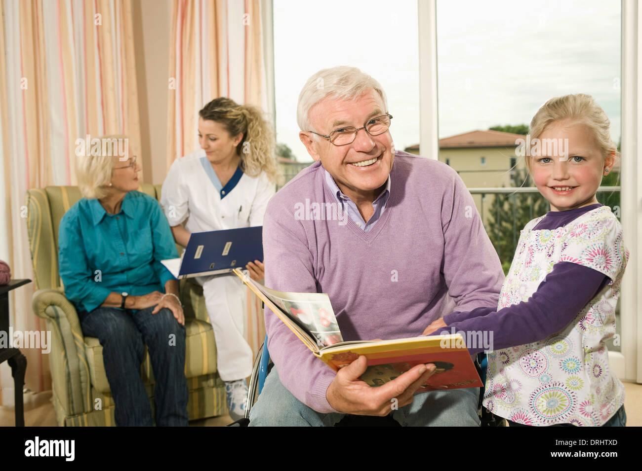 Großeltern Besuchen