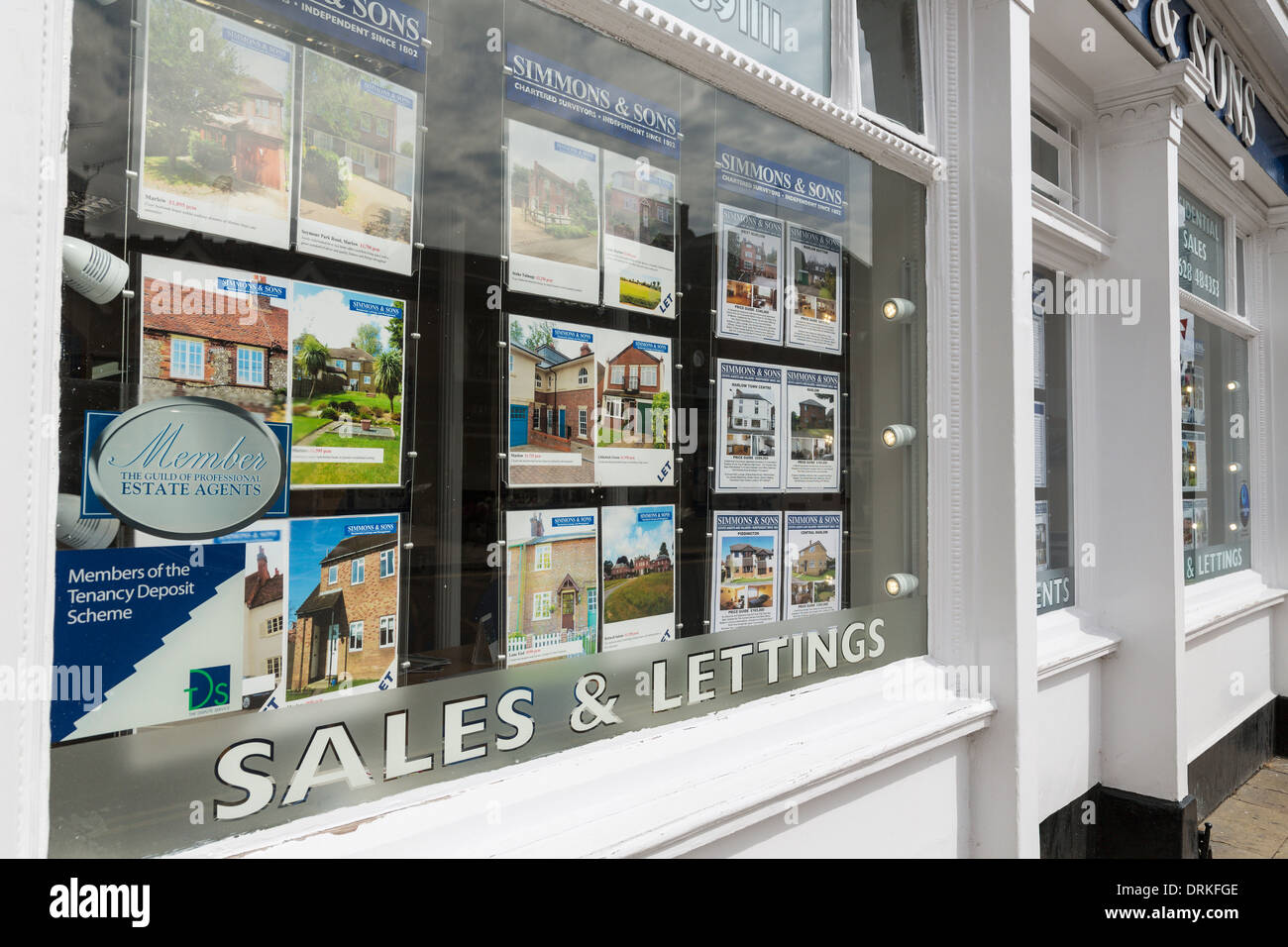 Simmons stockfotos simmons bilder alamy for Immobilienfirmen