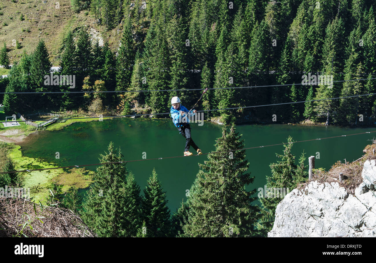 Klettersteig Zauchensee : Österreich salzburger land altenmarkt zauchensee junge am