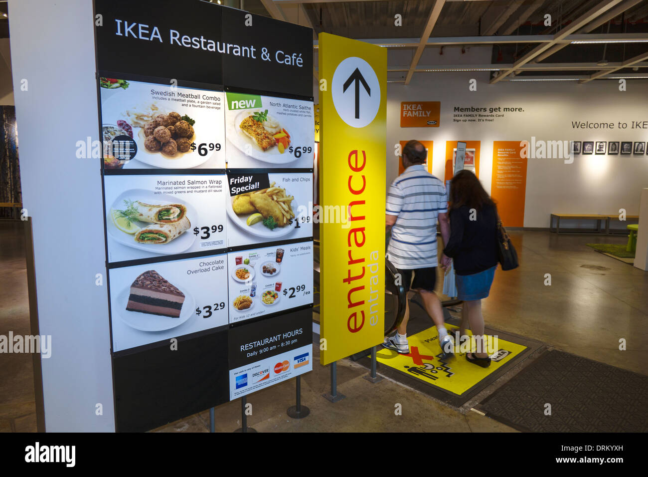 ikea restaurant stockfotos ikea restaurant bilder alamy. Black Bedroom Furniture Sets. Home Design Ideas