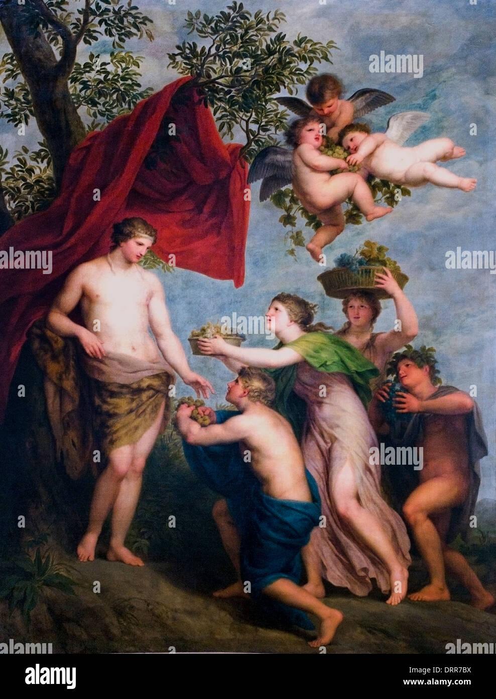 Angebote zu Bacchus von Andre Lens 1739-1822 flämischen Belgien Belgien Stockbild