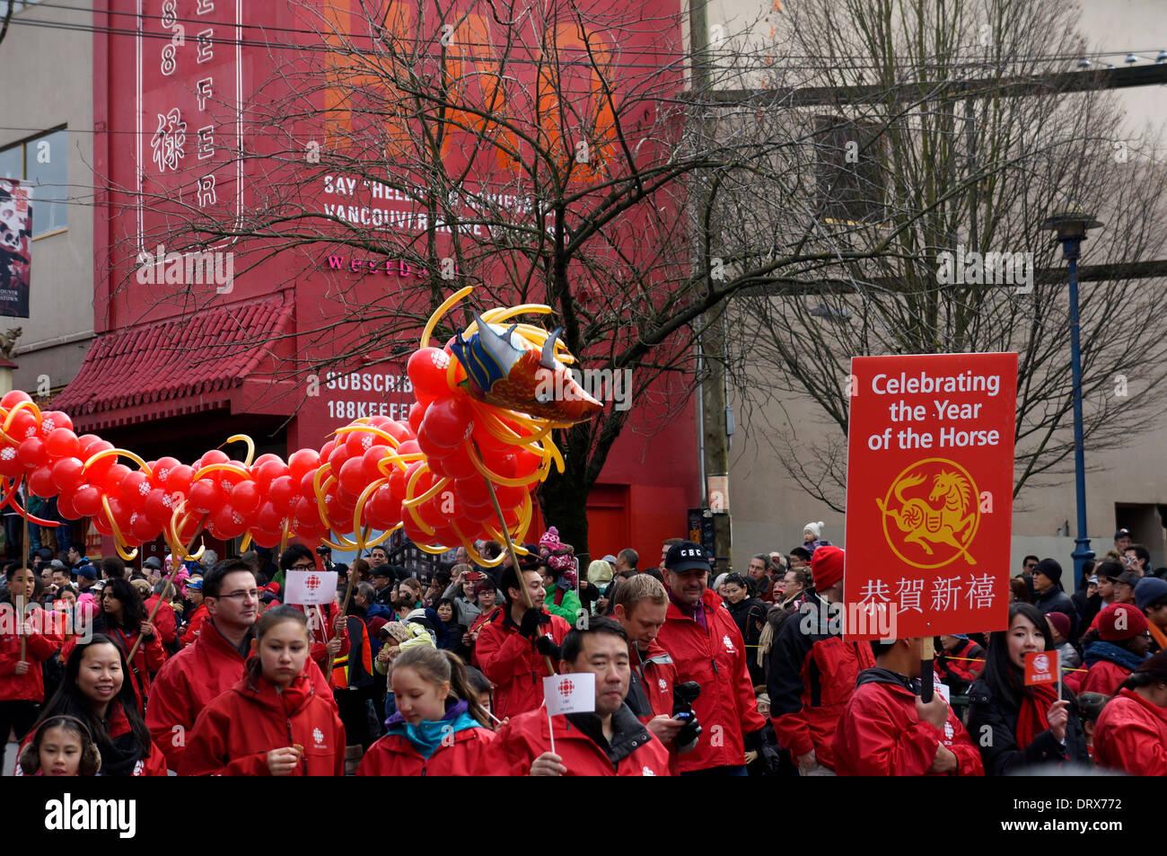 Chinatown-Neujahrsparade
