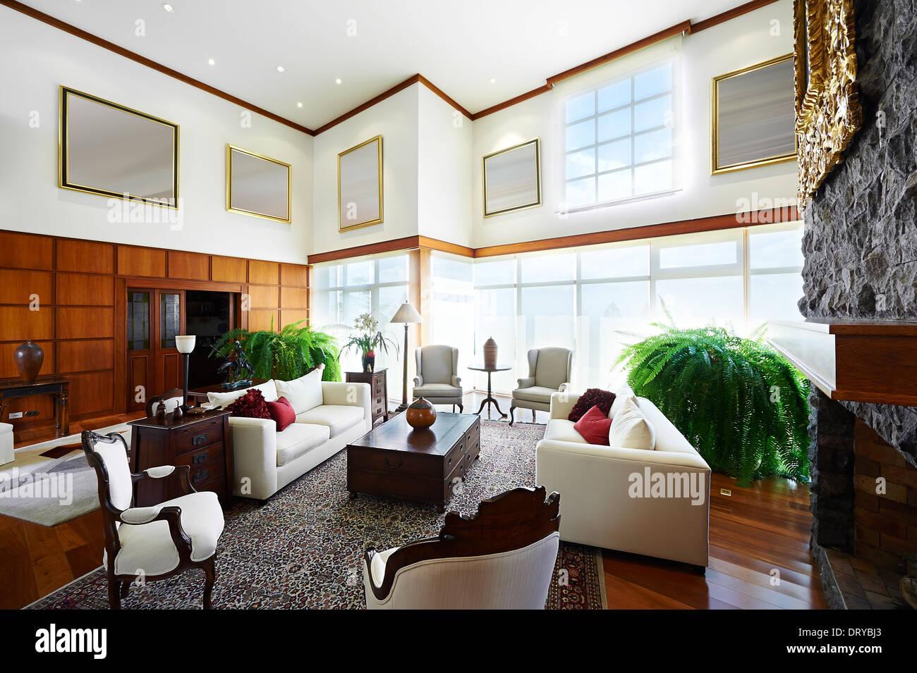 Interior Design Serie Klassische Wohnzimmer Grosses Haus