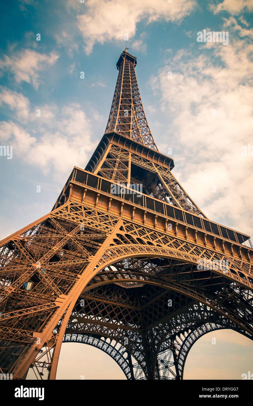 Eiffelturm Stockbild