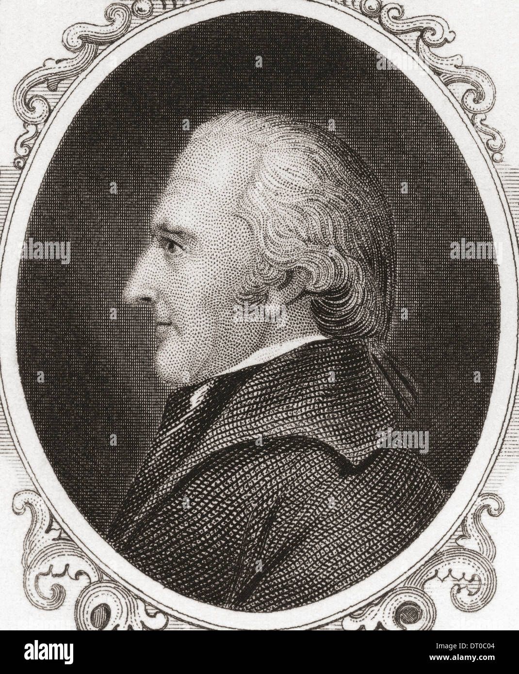 James Clinton, 1736 ?1812. Amerikanischer revolutionärer Krieg Offizier. Stockbild