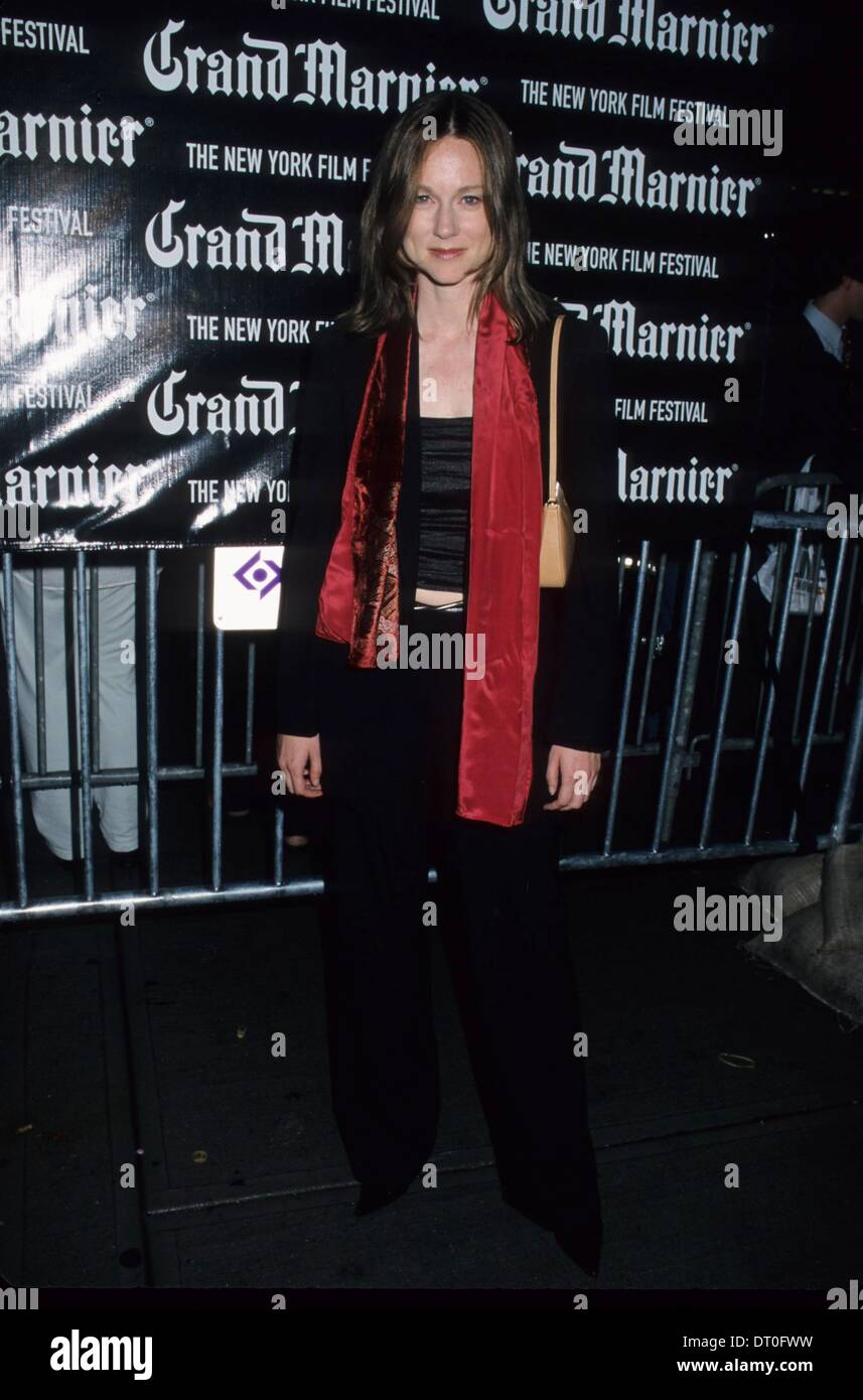 LAURA LINNEY. Die 38. NYFF Vorführung von The House of Mirth in der Alice Tully Hall in New York 2000.k19898Hmc. (Kredit-Bild: © Henry Mcgee/Globe Photos/ZUMAPRESS.com) Stockbild