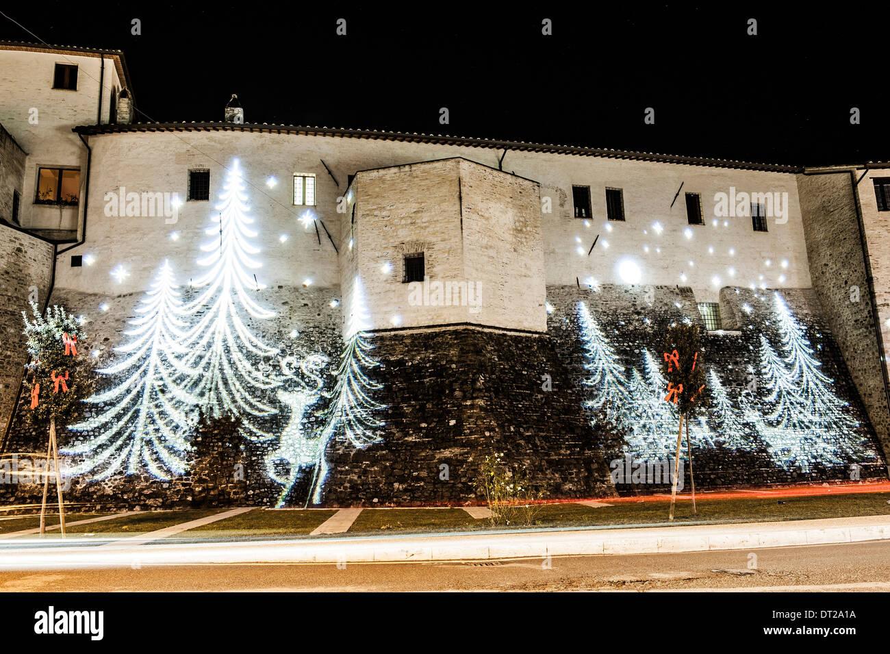 Weihnachtsbilder Suchen.Bastia Umbra Perugia Weihnachtsbeleuchtung Und Weihnachtsbilder
