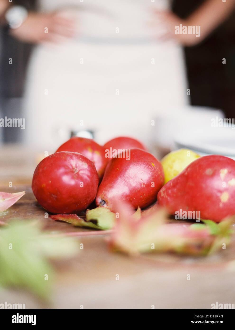 Tabletop stockfotos tabletop bilder alamy for Tischplatte kuche