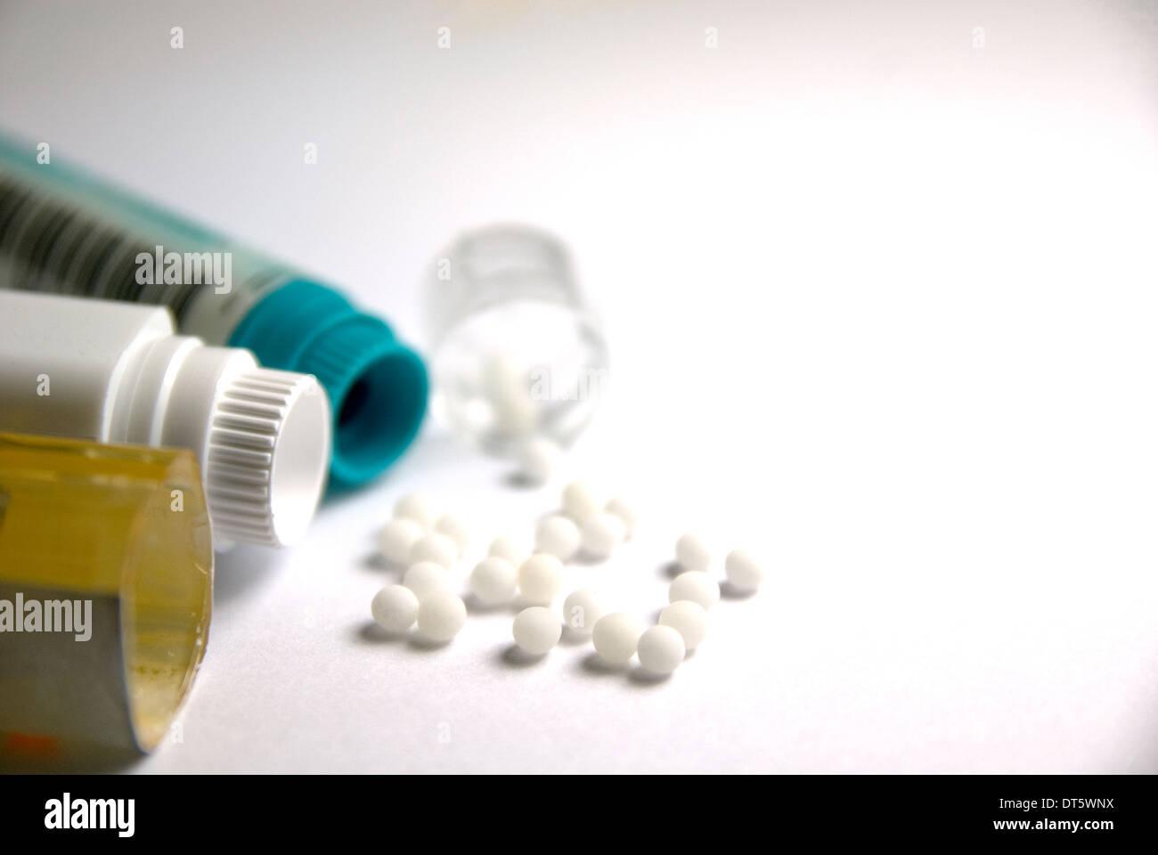 Homöopathie Stockbild