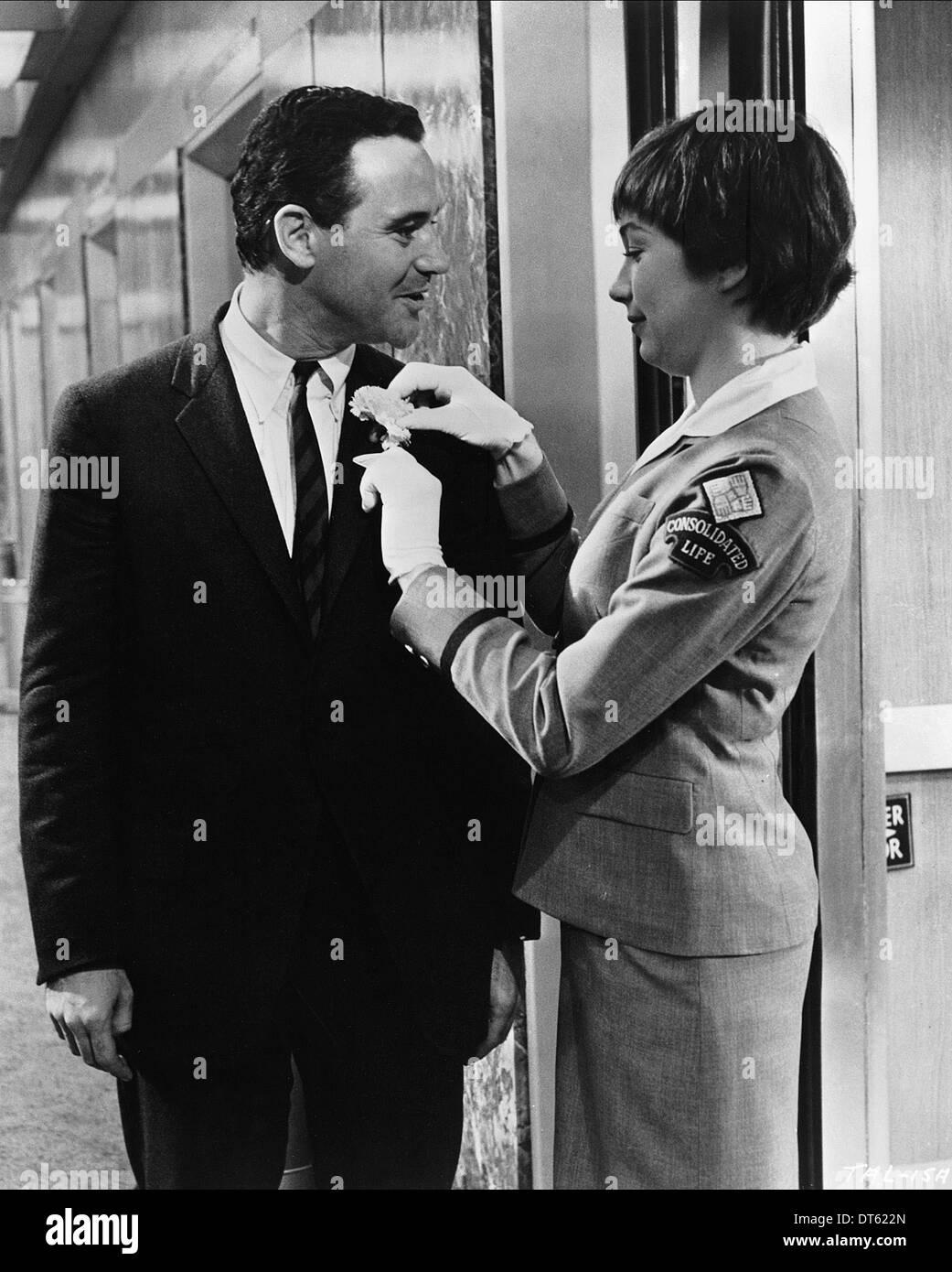 JACK LEMMON, SHIRLEY MACLAINE, DIE WOHNUNG, 1960