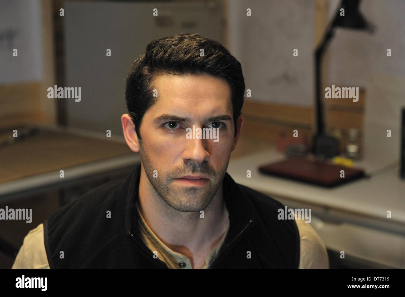 SCOTT ADKINS LEGENDÄREN: TOMB OF THE DRAGON (2013) Stockbild