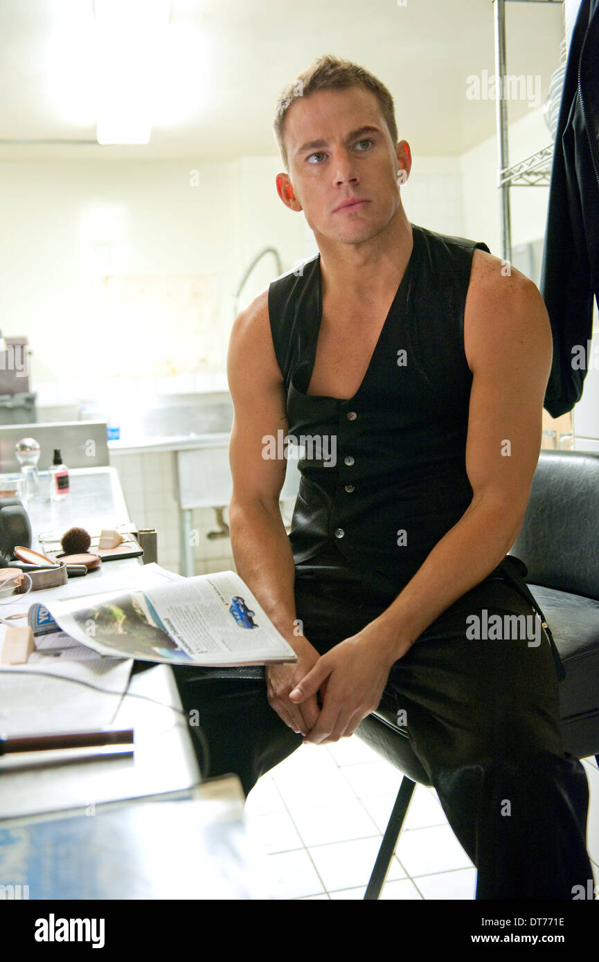 CHANNING TATUM MAGIC MIKE (2012) Stockbild